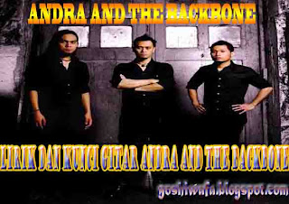Lirik Lagu dan Chord Gitar Andra And The Backbone Main Hati