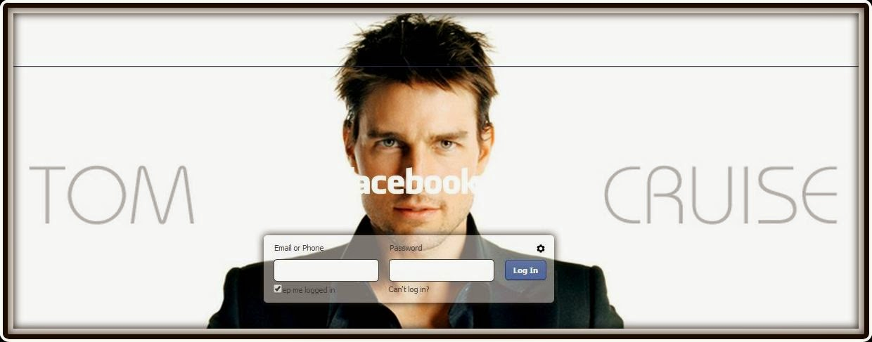 How to change the Background of Facebook Login Screen