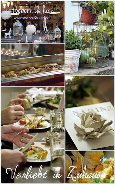 Bloggertreffen in Berlin von Dekoreen - Essen im stoebern de luxe