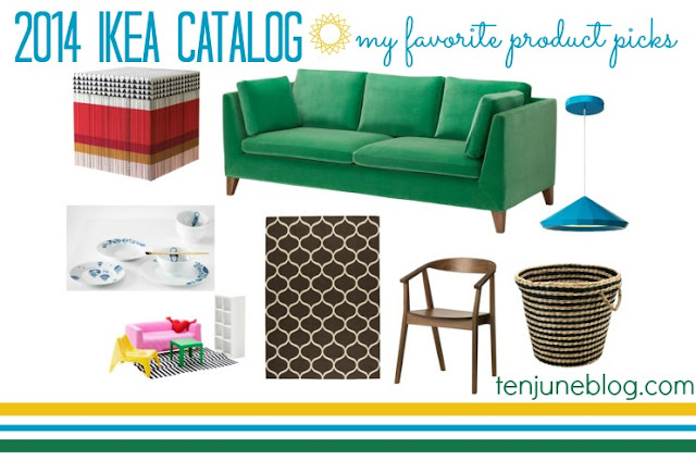 Ten June Ikea 2014 Catalog Product Picks