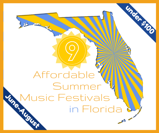 9 Affordable Summer Music Festivals in Florida