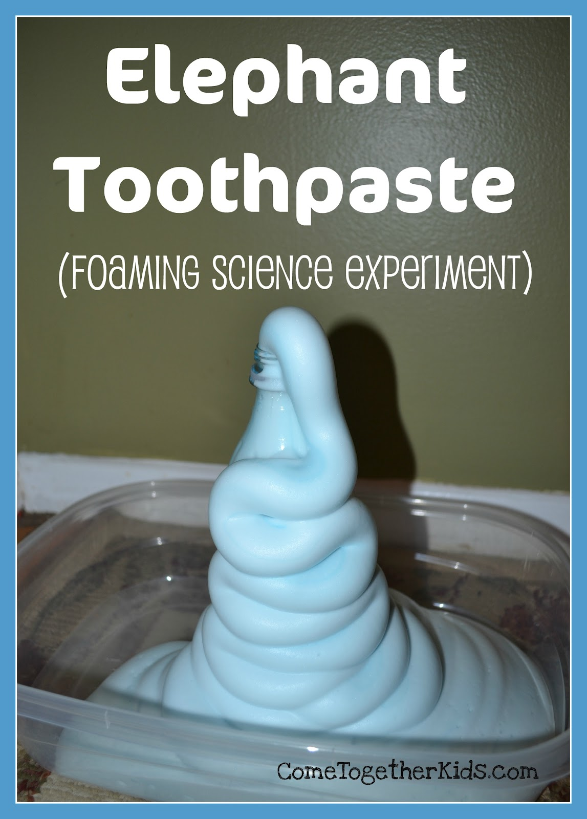 elephant toothpaste hypothesis Elephant toothpaste materials ½ cup of 6 % hydrogen peroxide (1 cup  how  would you test this hypothesis what would happen if you didn't add soap to the .