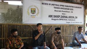 Ade Dasep ZA Laksanakan Reses, Tampung Aspirasi Masyarakat