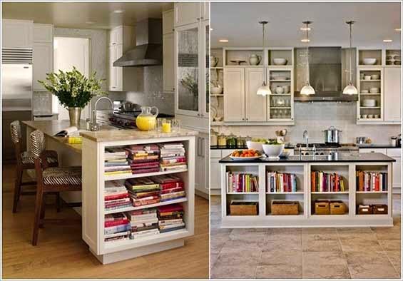 أفكار جديدة لتزيين المنزل بالكتب