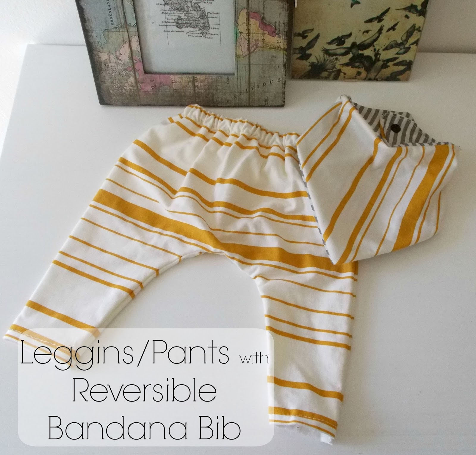 Mustard stripes baby harem pants