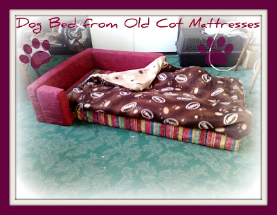 dog bed cot mattress