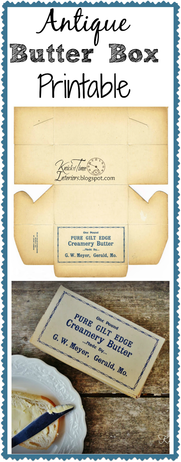 Antique Butter Box Royalty Free Graphic Free Printable by http://knickoftimeinteriors.blogspot.com/