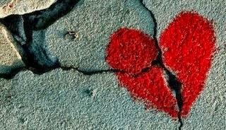 Sms d'amour coeur brisé