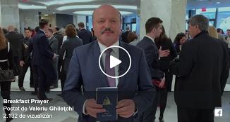 Valeriu Ghilețchi 🔴 Câteva impresii de la Micul Dejun cu Rugăciune Națională de la Washington DC