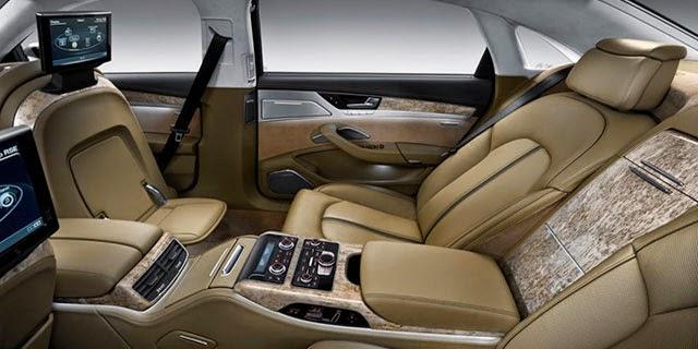 Gambar Audi A8 L Interior