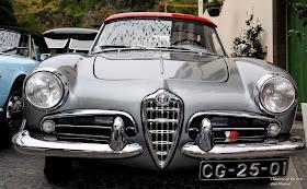 Alfa Romeo Giulietta Spider 750D 1956 - Membro Eduardo Jesus