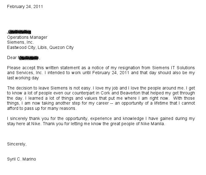 Redpill Resignation Letter I Quit