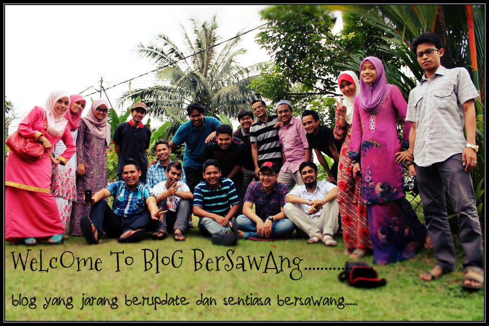 welcome to blog bersawang