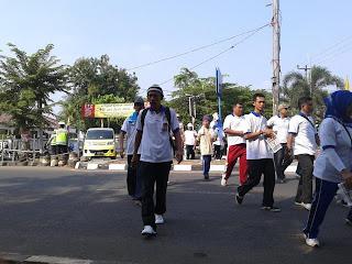 KEGIATAN GERAK JALAN SANTAI MEMPERINGATI HUT KOPERASI INDONESIA KE 66