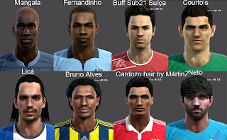 Facepack PES 2013 vol.4 by Miguelrioave