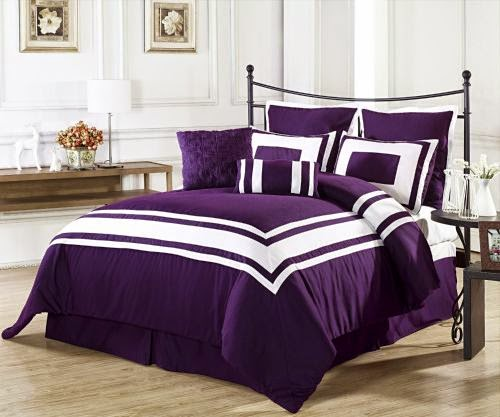 Bedspreads King Size Purple
