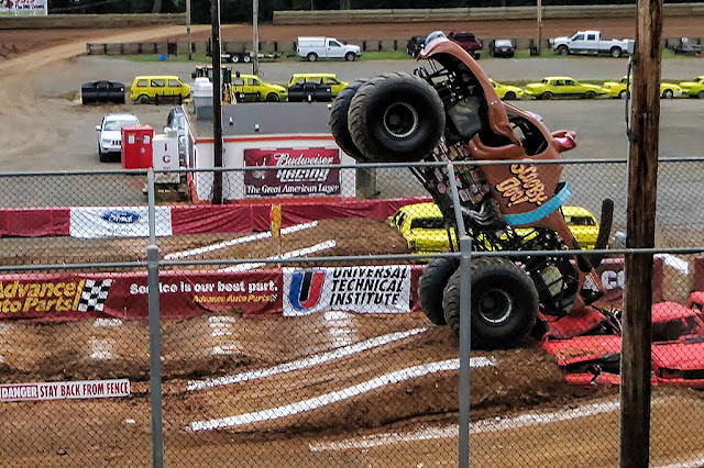 Scooby-Doo does a Wheelie at Monster Jam Hagerstown