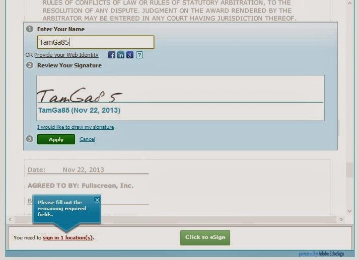 signature fullscreen