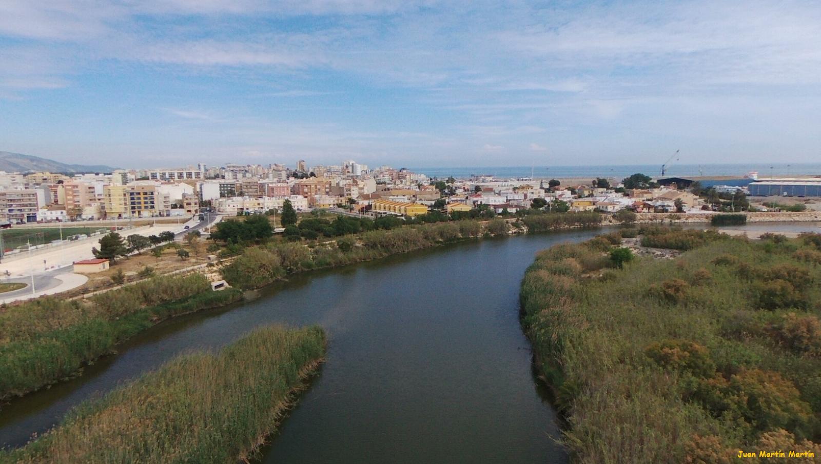 Desembocadura del Río Serpis. Gandía (Vídeo)