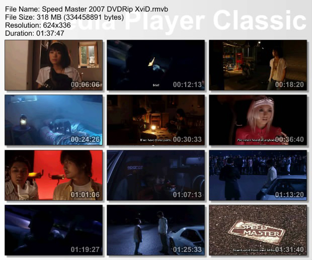 Speed Master (2007) DVDRip [J-Movie] - Gelang Hitam