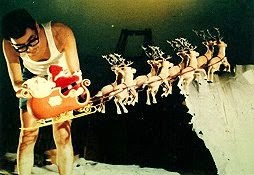 Santa's Sled Rudolph the Red-Nosed Reindeer 1964 animatedfilmreviews.filminspector.com
