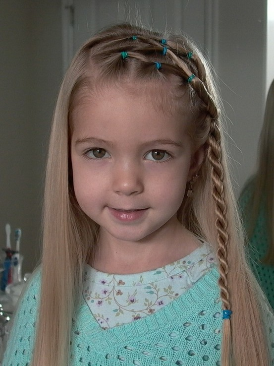 Cute Little Girl Braid Hairstyles