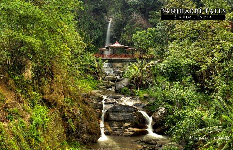 Banjhakri falls, Sikkim (photo - Vikramjit Kakati)
