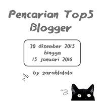 Pencarian Top 5 Blogger 2016