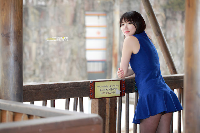 Yeon Da Bin Lovely in Mini Dress