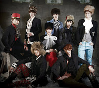 Super Junior. Bambina