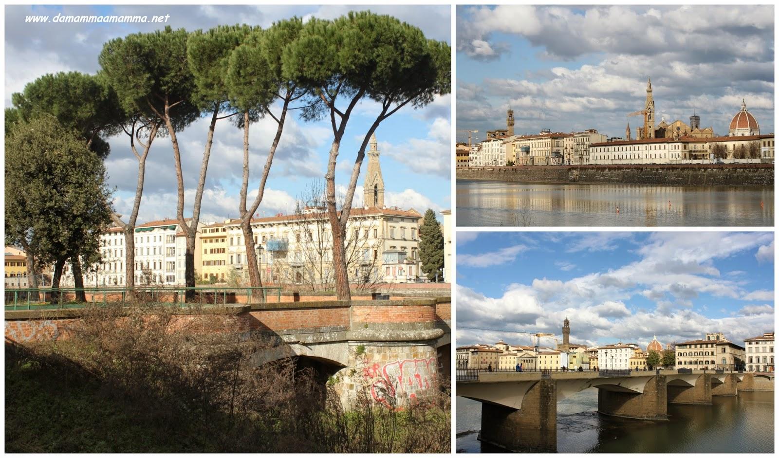 Firenze-paesaggio-fiume-arno