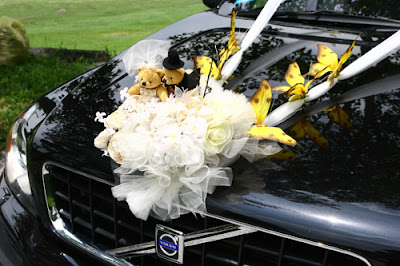 Wedding Car Flower Decoration Collections 2013