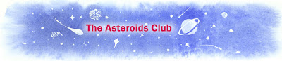 Asteroids Club webpage banner