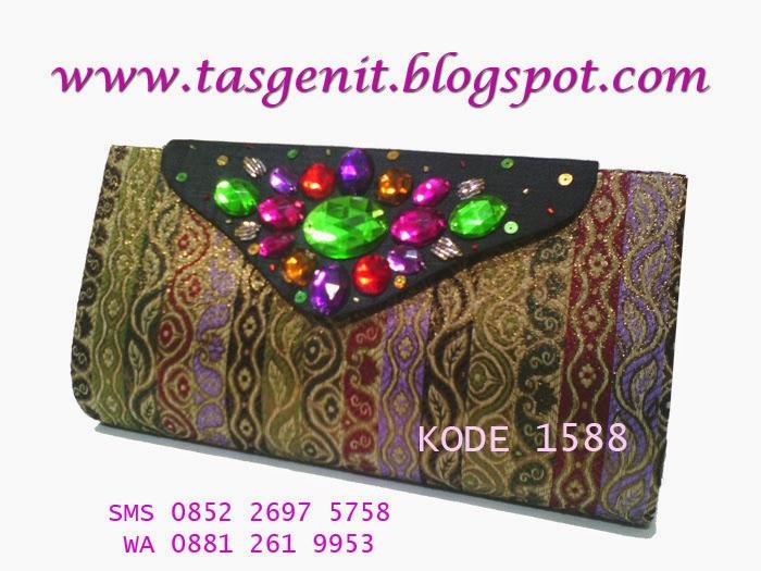 jual tas pesta, clutch bag unik, dompet kondangan, tas indonesia, tas songket