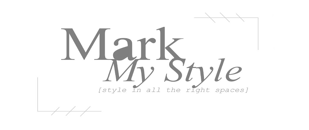 Mark My Style I Men's Fashion + Lifestyle