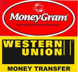 PAYMENT WESTERN UNION & MONEYGRAM