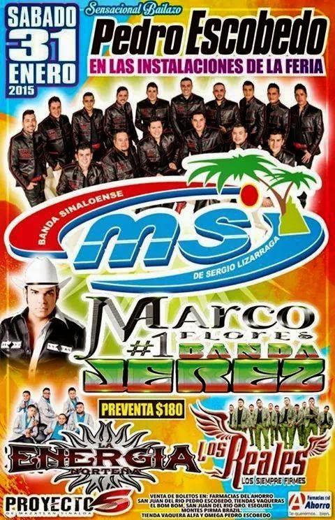 gira Banda MS conciertos y fechas 2015