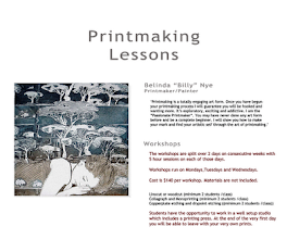 Printmaking Lessons Poster