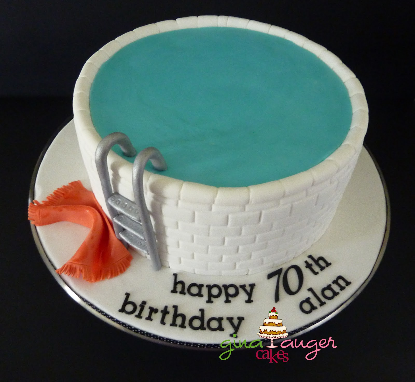 Top That!: Dive in! Alans 70th Birthday Cake