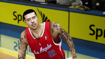NBA 2K14 Matt Barnes Cyberface Mod