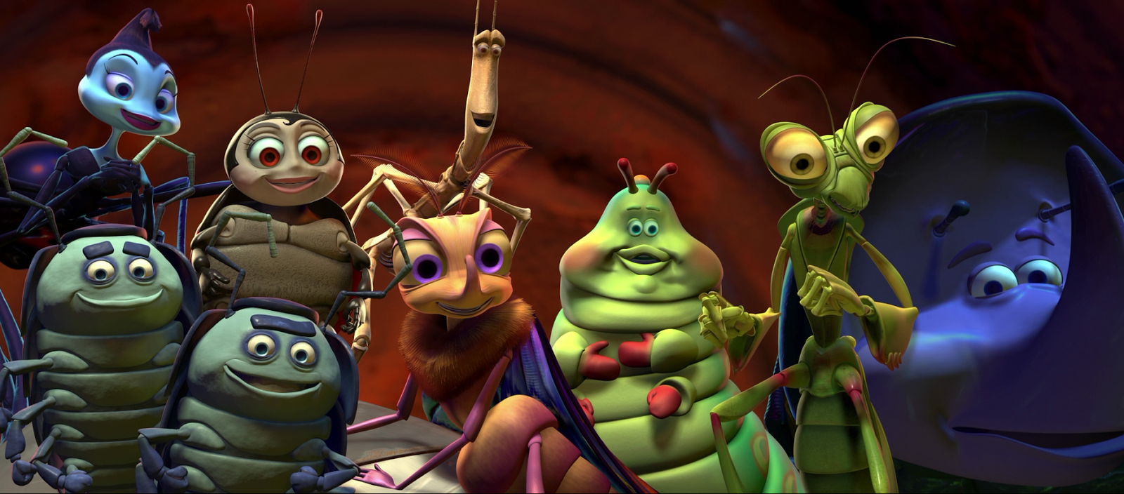Bugs Life Characters A bug's life