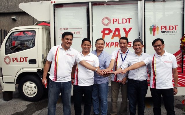 PLDT Pay Express Van