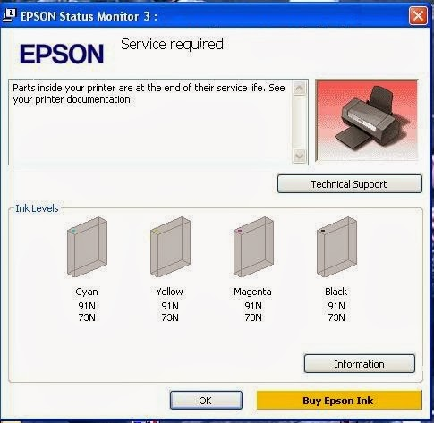 free download resetter for Epson Me 32 printer driver