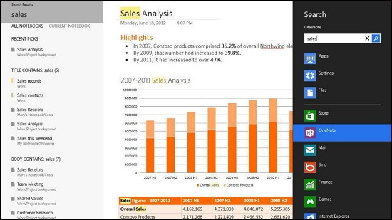 Office 2013 Keywords Search
