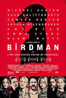 birdman (2014) drama movie poster