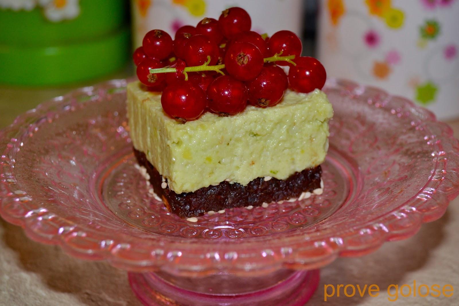 dessert crudo