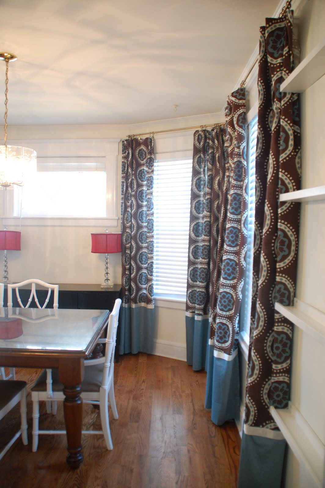 As Ive Discussed I Couldnt Find Ready Made Curtains That Complemented The Living Room There Were Plenty Of Liked Just Not