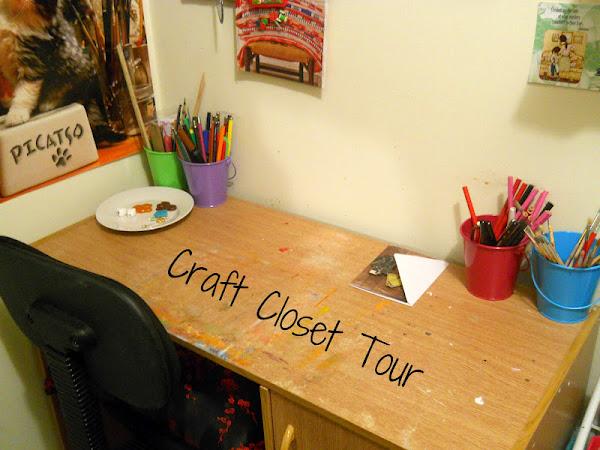Craft Closet Tour