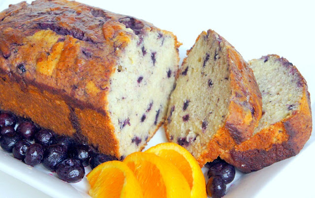 Homemade Blueberry Muffin Bread
