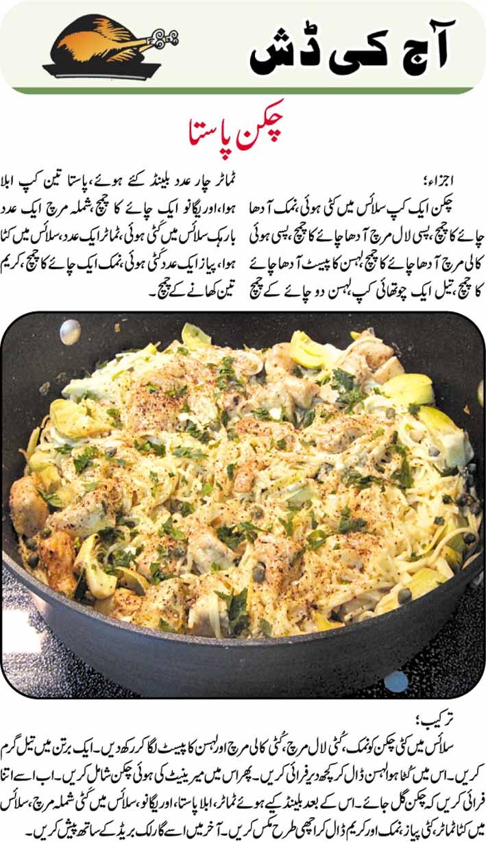 Daily cooking recipes in urdu chicken pasta recipe in urdu chicken pasta recipe in urdu forumfinder Gallery